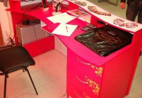 торговая мебель оклейка oracal